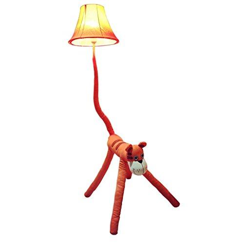 DSJ vloerlamp cartoon tijger staande lamp bedlampje slaapkamer kinderkamer lamp creatieve staande lamp