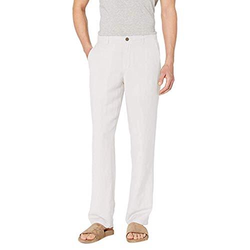Sylar Pantalones Hombre Pantalones Largos para Hombre Pantalones De Algodón Color Sólido Hombre Pantalones Hombre Suelto Pantalón Casual Pantalones Chinos Hombre Pantalones Hombre Negocios