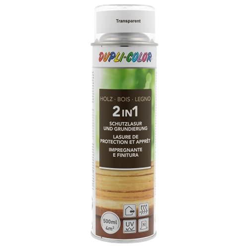 DUPLI-COLOR 391545 Holzschutzlasur Spray Transparent 500 ml