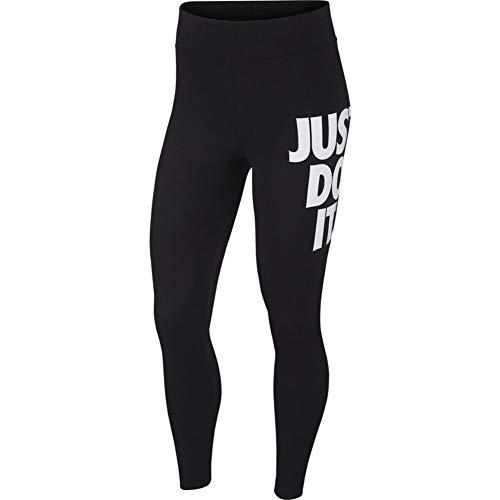 Nike Leg-A-See 7/8 JDI High Waist Leggings (XS, Black/White)