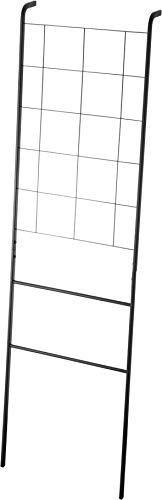 Yamazaki Home Grid-Panel Leaning Ladder-Modern Storage Rack for Bedroom Or Bathroom, One Size, Black