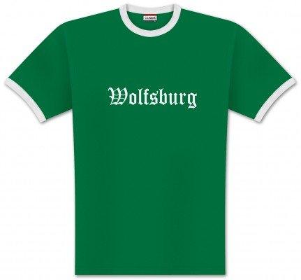 World of Football Ringer T-Shirt Old Wolfsburg - 128