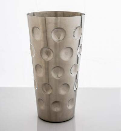 Pfälzer Gral Dubbeglas - Dubbebecher aus Edelstahl (Stahl)