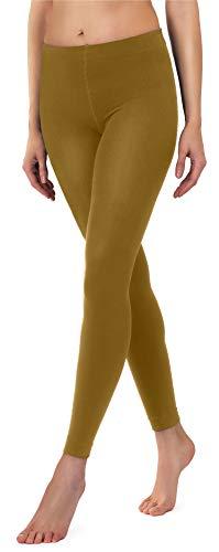 Merry Style Polainas Térmicas Mujer 24555 (Mostaza, EU 38/40)