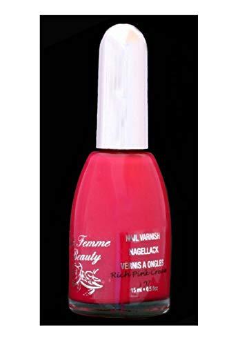 La Femme Vernis à Ongles Rose Crème 15ml - Rich Pink Cream (107)