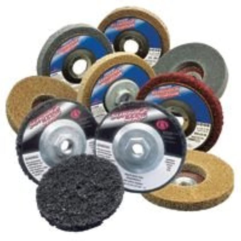 Depressed Center Wheels, 4.5 X 7/8, Extra Coarse S/C, 12000 rpm, Silicon Carbide (37 Pack)