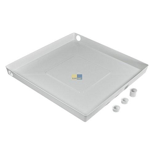 Europart 771663 Auffangbehälter Bodenwanne Waschmaschinenwanne Spülmaschinenwanne Wasserschutz Leckschutz Wanne für Waschmaschine Spülmaschine