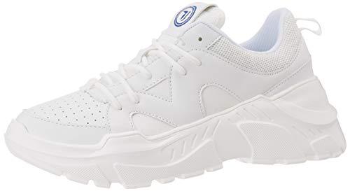 Trussardi Jeans Runner Synthetic Bufalo Unisex, Scarpe con Lacci Donna, W001, 38