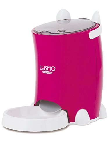LUSMO Automatic Pet Feeder Red L-AF120R