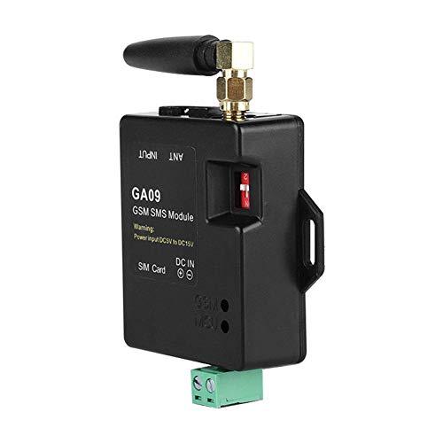 GSM Drahtloses Alarmsystem, Mini Alarm Box Antenne GA09 Intelligenter SMS Text Anruf Automatischer Alarm für Zuhause, Industriefabrik, Lager, Kontrollraum