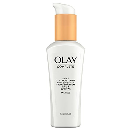 Olay Complete Daily Defense All Day Moisturizer With Sunscreen Spf 30 For Sensitive Skin