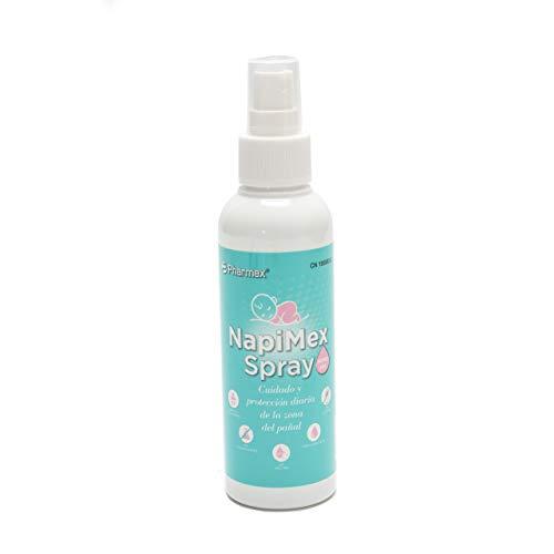 Pharmex - Napimex - Spray Hidrogel - Para Limpiar, Proteger Y Prevenir La Irritación Del Pañal - 150 ml