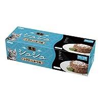 (まとめ)アイシア 黒缶シュシュ6P シラス入かつお 60g×6 【猫用・フード】【ペット用品】【×12セット】 ds-1626799