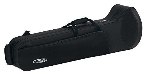 Classic Cantabile Leichtkoffer für Posaune (Posaune Koffer, Lightcase, Softcase für Zugposaunen, reiß- und wasserfestes Außengewebe, hochwertige Thermopolsterung, Außenmaße: 97 x 31 x 33 cm)