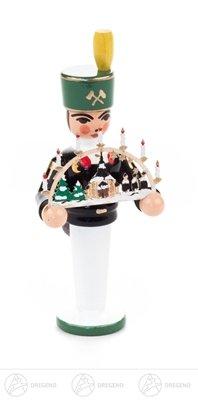 Bergmann Miniatur mit Schwibbogen