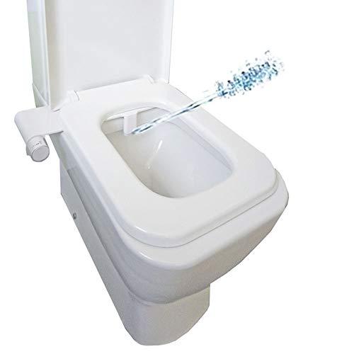CM Bath - Bidé para Inodoro Doble Chorro - Sin Electricidad - Ducha-Pulverizador HIgiene Íntima WC