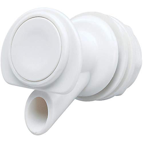 Igloo 24009 Espiga de Repuesto Blanca para refrigeradores de Bebidas de 2, 3, 5, 10 galones - Cantidad 6