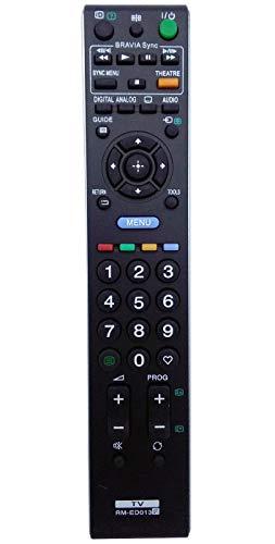ALLIMITY RM-ED013 Fernbedienung Passform für Sony Bravia LCD TV KDL-40L4000 KDL-40S4000 KDL-40U4000 KDL-40V4000 KDL-40V4210 KDL-40V4220 KDL-40V4230 KDL-46V4000 KDL-46V4210 KDL-52V4000 KDL-52V4210