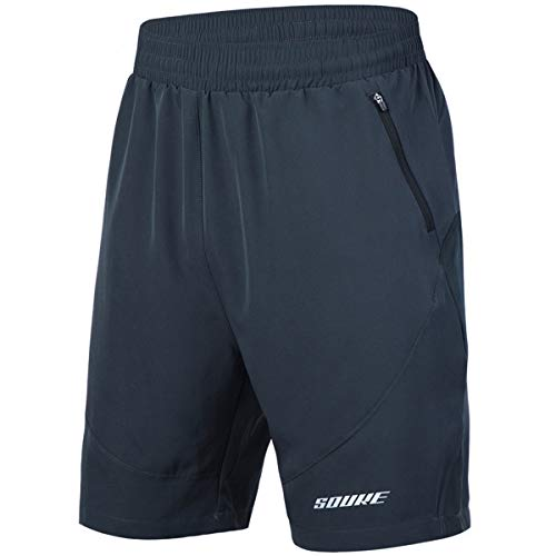 5. Souke Sports Men's Workout Running Shorts