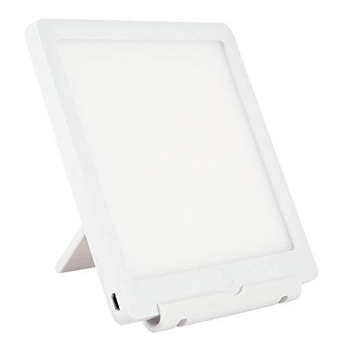 Lámpara de Luz Diurna 10000 Lux de ABS sin Batería Para Terapia para SAD / Depresión / Trastorno del Sueño(140x140x10mm)