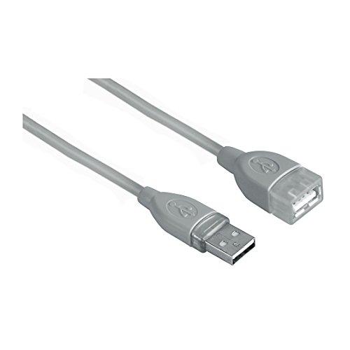Hama 45040 - Cable USB de extensión, 3 m