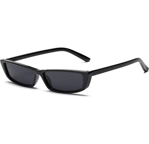 NZHK Gafas de Sol de la Vendimia del rectángulo pequeño capítulo Gafas de Sol Retro Gafas Reduzca los vidrios UV400 for Las Mujeres Gafas de Controladores Gafas de Sol polarizadas