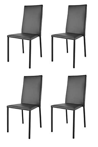 Sillas De Cocina De Madera Y Asiento Acolchado sillas de cocina de madera  Marca t m c s