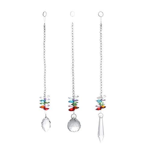 Perles cristal pour lustre 6 m Verre Clair Lampe Chaîne Mariage Fête À faire soi-même...