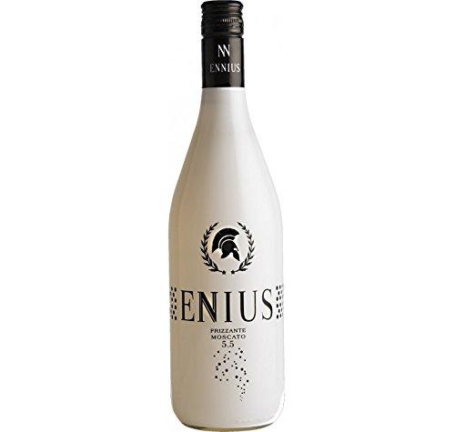 Vino Frizzante Ennius, elaborado con uva moscato, varios sabores. (PACK 3 unidades de 750ml). Envió GRATIS 24h. (blanco)