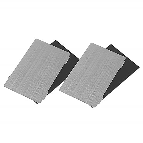 Creality Spring Steel Build Plate for SLA/DLP 3D printer 135X75MM Flexible Steel Plate and Magnet Sticker for Elegoo Mars/Mars Pro (2 Sets)