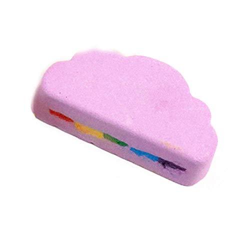 Brosse Pour Le Corps Brosse de massage Soins de la peau arc-en-ciel nuage sel huile essentielle boule de bain bulle exfoliant hydratant accessoires de soins de la peau naturel bain moussant boule-la