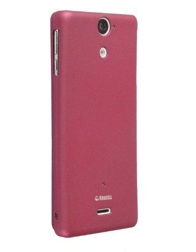 Krussel 89767 Colore Xperia V, Colore: Rosa Metallizzato