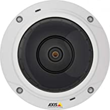 Axis Communications 0548-001 M3037-PVE, Network Surveillance Camera, White