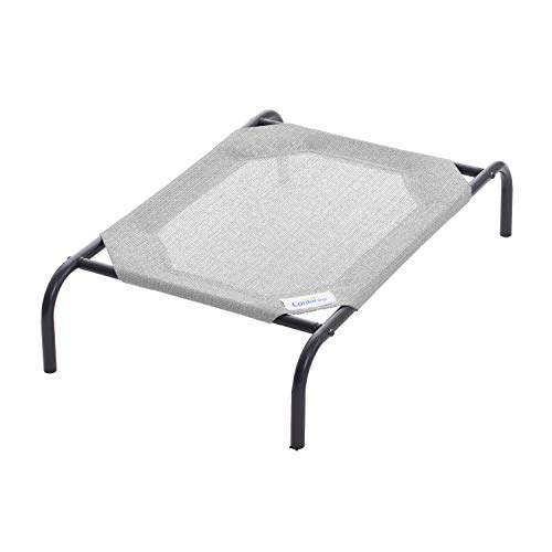 Coolaroo The Original Elevated Pet Bed, Small, Grey