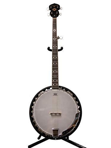 Oscar Schmidt LEFT HAND 5-String Banjo, Mahogany Resonator, Remo Head, OB5LH