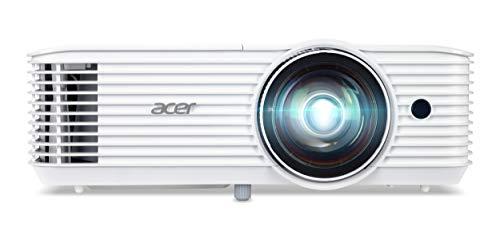 Acer S1386WH DLP Business-Projektor (WXGA, 1.280 x 800 Pixel, 3.600 ANSI Lumen, 20.000:1 Kontrast, Kurzdistanz)