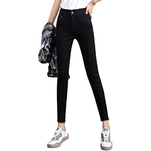 Katenyl Moda para Mujer Leggings elásticos Ajustados Moda de otoño Pantalón Recortado con Curvas de Cintura Media y Comodidad 25