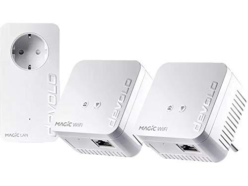 Devolo Magic 1 WiFi Mini Multiroom Kit (1200Mbit, G.hn, Powerline + WLAN, Mesh)