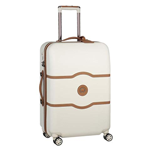 DELSEY Paris Chatelet Air Maleta, 69 cm, 72 Liters, Blanco (Angora)