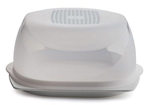 Tupperware KäseMaX (Mini, Weiß, Kunststoff, White/transparent, 16 x 16 x 7.5 cm, 2-Einheiten