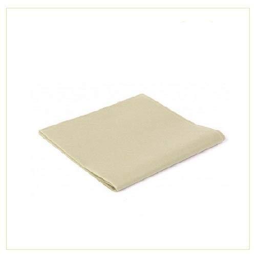 Virsus 25 Tovaglie in TNT Tessuto Non Tessuto Misura 100x100cm Ideali per la ristorazione vari colori (Avorio)