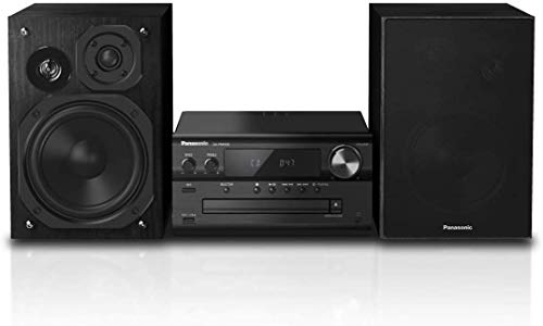 Panasonic SC-PMX92EG-K HiFi-Stereo-System, High-Res-Audio, CD, Bluetooth, FM Radio, DAB+, AUX-IN Autoplay, USB DAC, LincsD-Amp, 3-Wege-Lautsprecher, hohe Audioqualität, schwarz