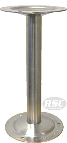"304 Stainless Steel Bench Pedestal - 16.25"" High"