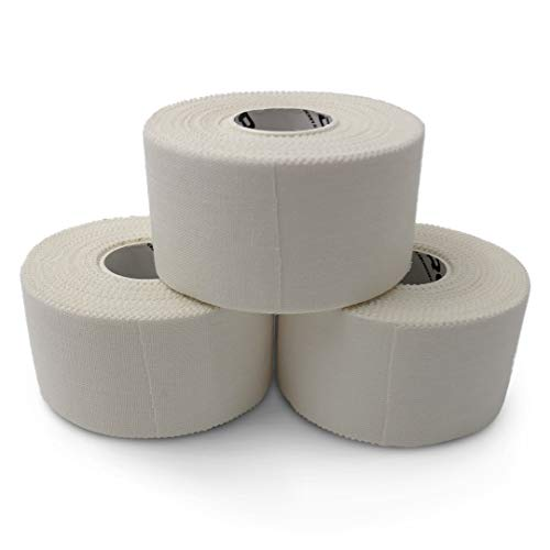 White Athletic Sports Tape Extra Strong and Easy to Tear Best for Athletes and Trainers