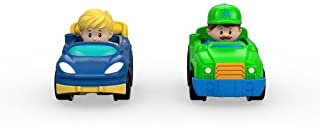 Fisher-Price Little People Wheelies Tow Truck & Race Car