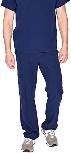 FIGS Medical Scrubs Men's Cairo Cargo Pants (Navy Blue, S)