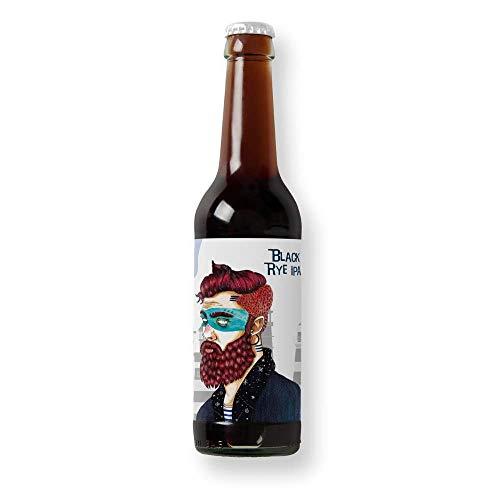 Cerveza Mascarat - Pack 6 unidades - Cervezas Althaia - Cerveza artesana - Premiadas Internacionalmente. Regalos especiales. Botella 33cl. Craft Beer