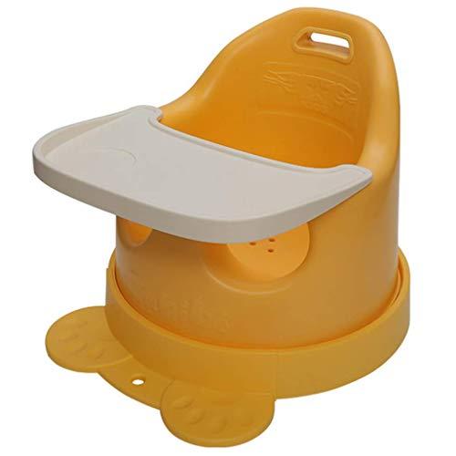 DHTOMC Child seat Multifunktionale Baby-Lernstuhl Tragbares Sofa-Kind-Essen-Sitz, um den Essen des Babys zu erhöhen (Size : Yellow)