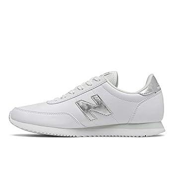 New Balance womens 720 V1 Sneaker White/Silver 8.5 US