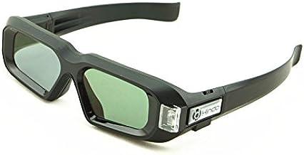 144hz Rechargeable 3D Active Shutter Glasses for All 3D DLP Link Projectors(BenQ,Acer,LG,ViewSonic,Vivitek,NEC,Optoma,Sharp,DELL)